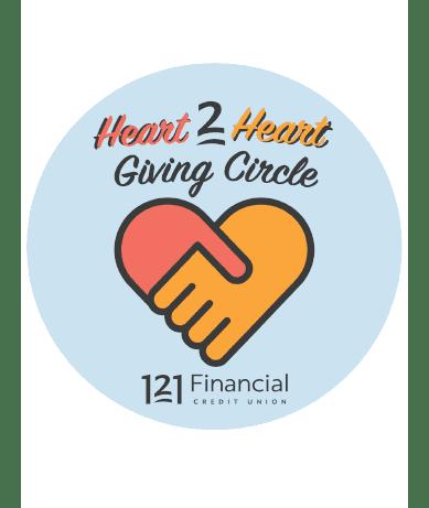 121FCU's Heart 2 Heart Giving Circle