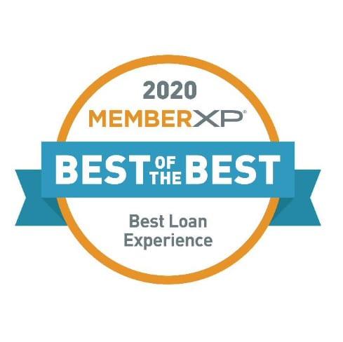 2020 MemberXP: Best Loan Experience