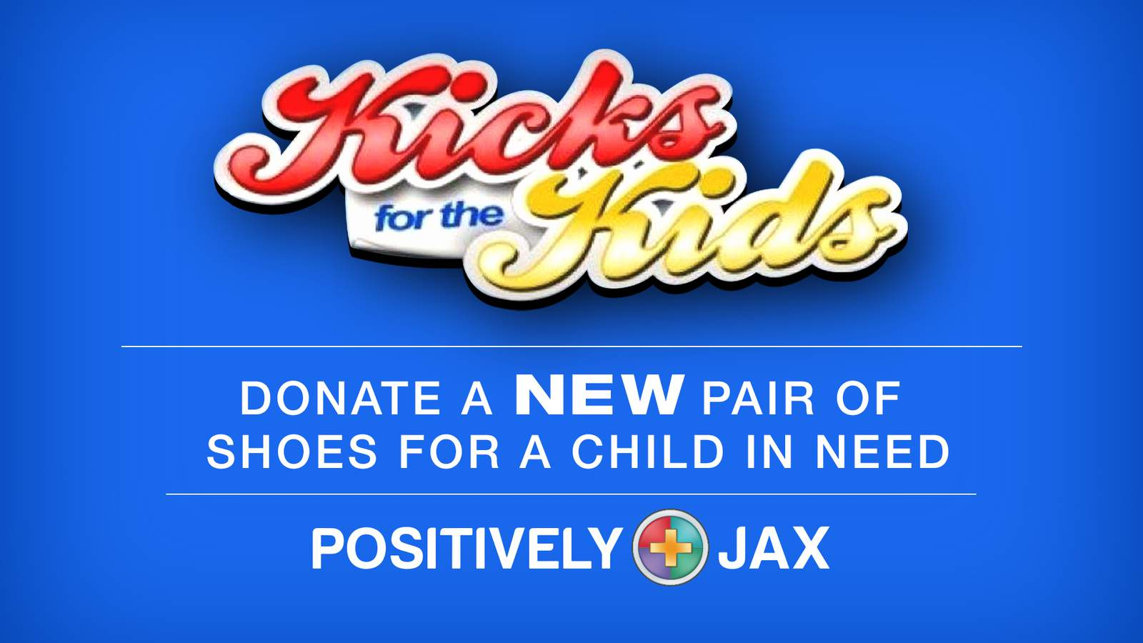 Donate shoes to Kicks for the Kids