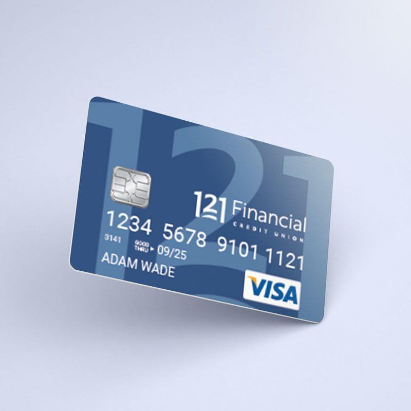 121 financial visa signature